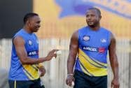 Dwayne Bravo and Dwayne Smith
