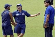Sachin Tendulkar and Javagal Srinath