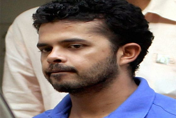 Cricketer S Sreesanth being taken to court in New Delhi on Tuesday for his alleged links with bookies accused of spot-fixing in the IPL's on-going edition