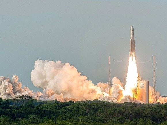 ISRO, GSAT, Ariane 5, GSAT-18, satellite, ISRO satellite, Spaceport, Kourou, French Guiana