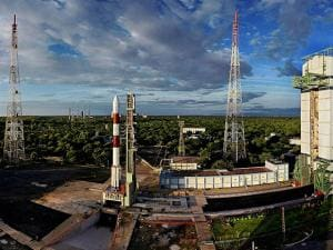 PSLV-C35 ready to be launch with SCATSAT-1 and seven other satellites