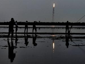 PSLV lifts off from Satish Dhawan Space Center in Sriharikota