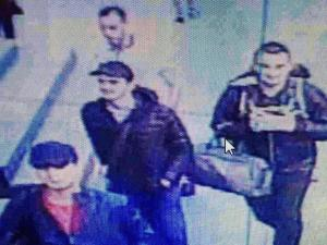 In this framegrab from CCTV video, made available by the Turkish Haberturk newspaper