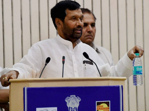 Minister of Consumer Affairs, Food and Public Distribution, Ram Vilas Paswan