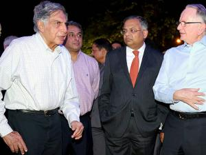 Natarajan Chandrasekaran Chairman of Tata Sons Ratan Tata
