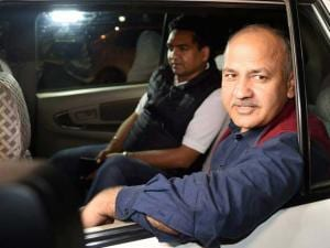 Delhi Dy CM Manish Sisodia and minister Kapil Mishra arrives to meet Home Minister Rajnath Singh