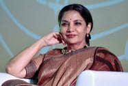 Actress and social activist Shabana Azmi at the launch of a public service message