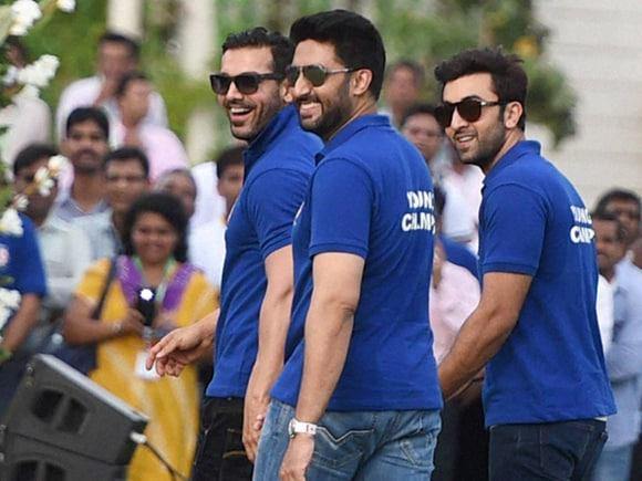 Ranbir Kapoor, Abhishek Bachchan, John Abraham