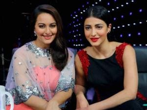 Shruti Hassan and Sonakshi Sinha