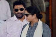 Ranjeet Ranjan, Pappu Yadav at Parliament house