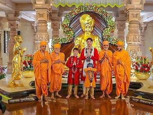 Justin Trudeau's youngest child Hadrien at his goofiest best in India
