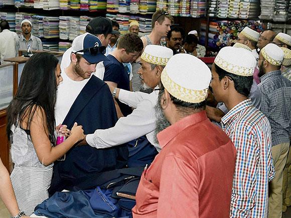 Garments shop, Kane Williamson, New Zealand captain, Kolkata