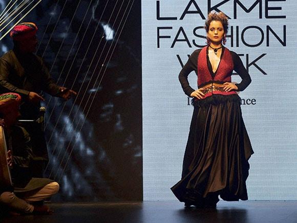 Lakme Fashion Week, Kangana Ranaut, Tarun Tahiliani, Bollywood actress