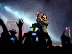 Bollywood singer Shilpa Rao performs