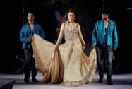 Kannada Actress Rai Laxmi walks the ramp