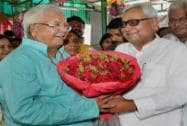 Nitish Kumar and Lalu Prasad