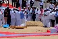 Last rites of APJ Abdul Kalam
