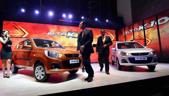 MD & CEO, Kenichi Ayukawa, Executive Director, Marketing & Sales, launch, Maruti Suzuki's, next generation, Alto K10