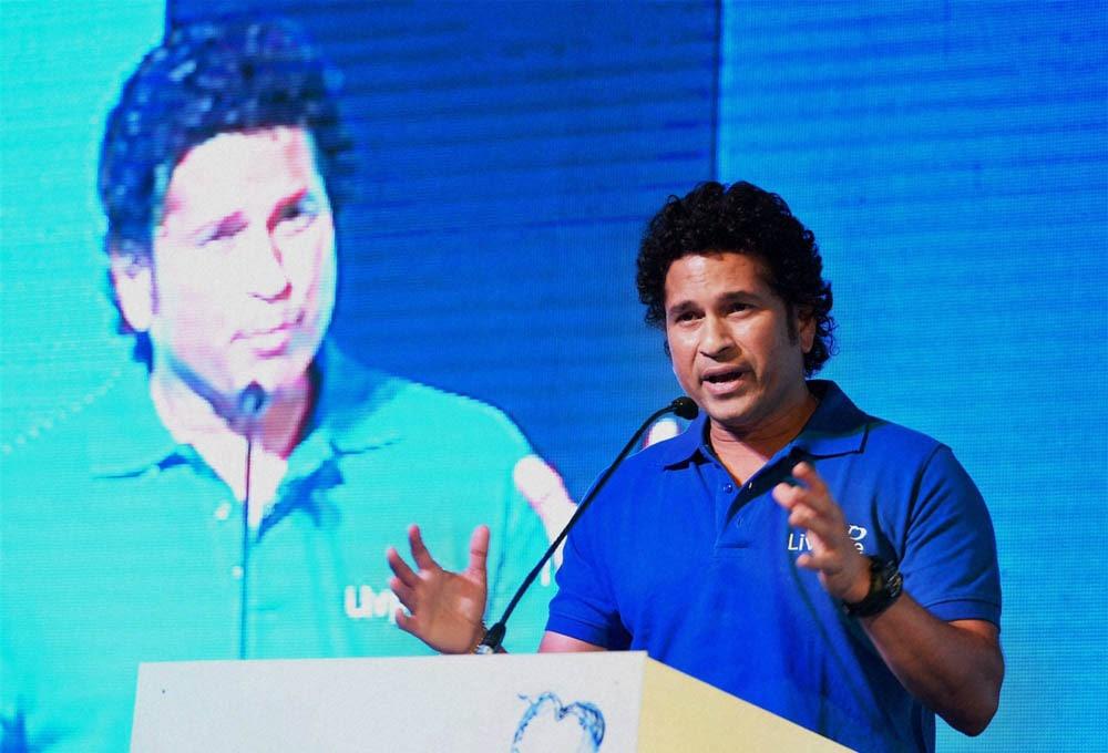 "Cricket, legend Sachin Tendulkar, speaks, launch, campaign, ""Shuddh Paani, Swastha Bharat"", curb, water-borne diseases, New Delhi"
