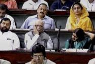 Advani, Paswan, Sushma Swaraj in LS