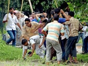 Left farmers' rally turns violent