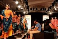 Models dazzle the ramp