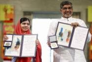 Malala and Satyarthi receive the Nobel Peace Prize 2014