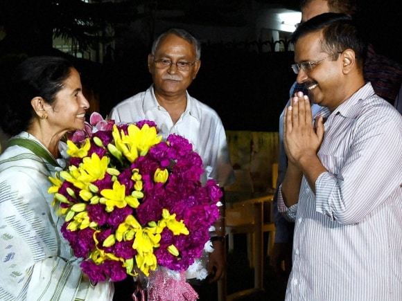 Chief Minister of West Bengal, Mamta Banerjee, Chief Minister of Delhi, Arvind Kejriwal, Parliament house, New Delhi