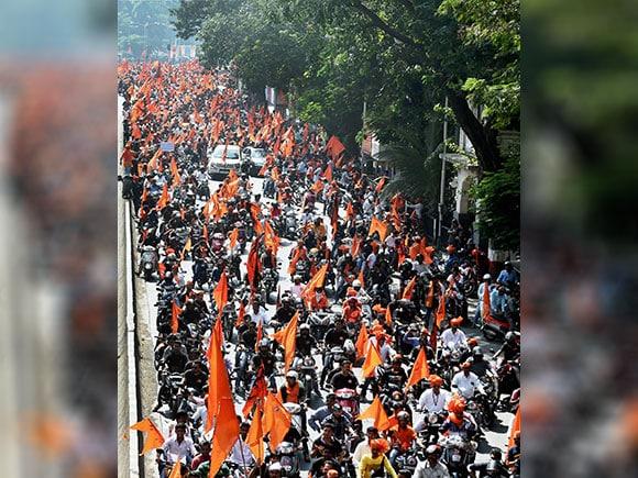 Maratha, maratha muk morcha, muk morcha, bike rally, Maratha kranti morcha