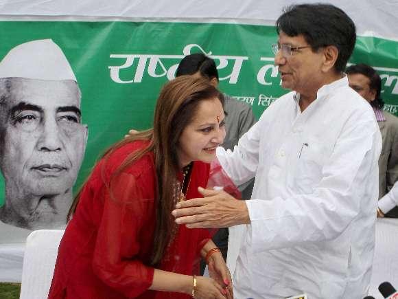 Jaya Prada, RLD, Ajit Singh
