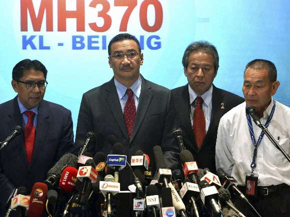 Azharuddin Abdul Rahman, Hishammuddin Hussein, Anifah Aman, Ahmad Jauhari Yahya, MH370