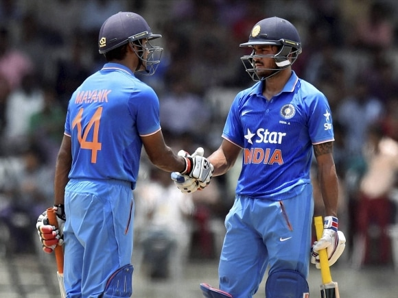 Mayank Agarwal, Manish Pandey, Tri-series final, Tri-series, India A, South Africa A, Triangular Series, MAC Stadium, Chennai