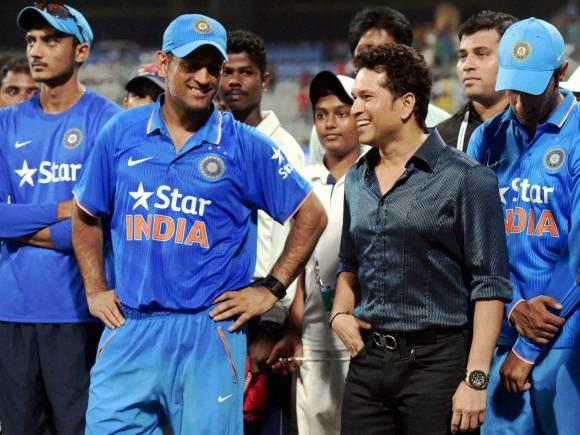 Sachin Tendulkar, Indian team, South Africa series win, South Africa vs India Series, South Africa in India Series 2015, AB De Villiers, Faf du Plessis, MS Dhoni, Quinton de Kock