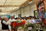 Modi pays tribute to Munde