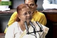 Sumitra Mahajan takes oath
