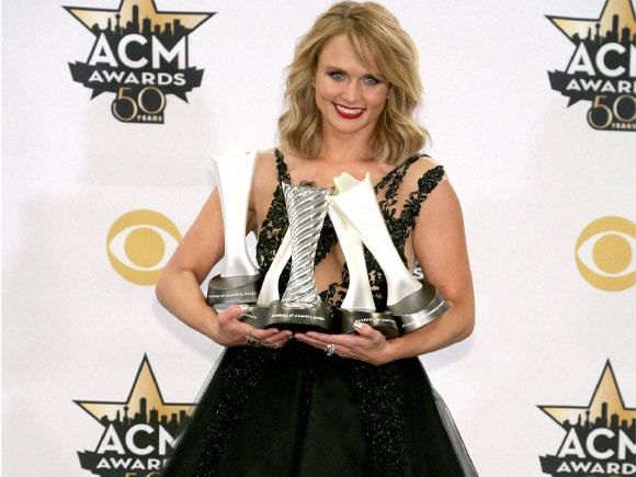 ACM Award, Miranda Lambert, Automatic, Platinum, 50th annual Academy of Country Music Award