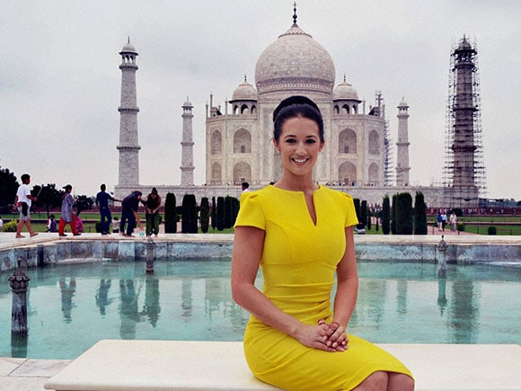 Jaime Lee Faulkner, Miss Universe, Great Britain 2016, Taj Mahal