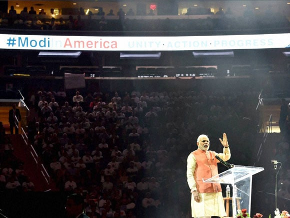 Modi, US, Madison Square, India