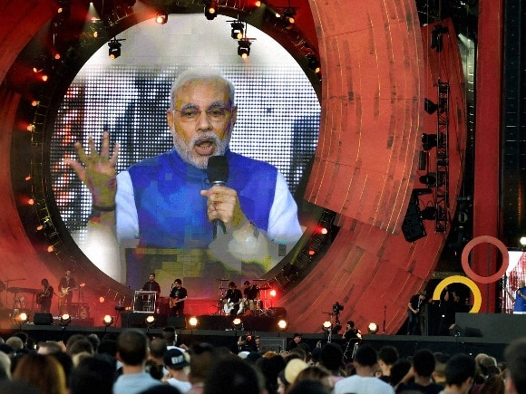 Narendra Modi, Central Park, Global Citizen Festival, New York