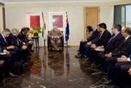 Modi meeting with CEOs of Australia