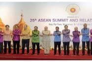 The East Asia Summit family photo