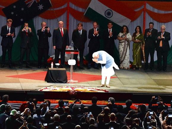 Modi, Australia, India,