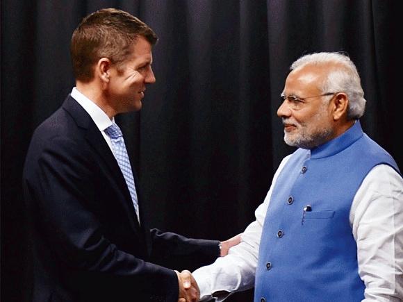Mike Baird, Modi, India, Australia