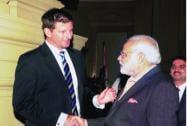 Modi with Kasprowicz