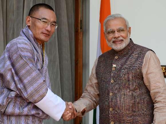 Tshering Tobgay, Narendra Modi