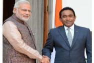 Modi meets Abdulla Yameen Abdul Gayoom