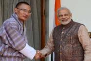 Modi meets Tshering Tobgay