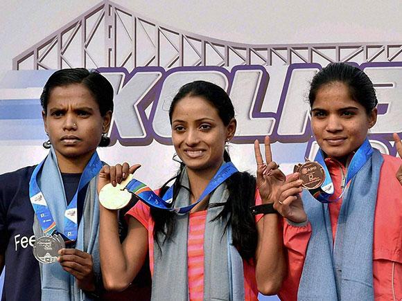 Tata Steel Kolkata 25k, Monika Athare, Women's Elite 25K, Marathon