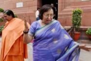 Uma Bharti with Najma Heptulla