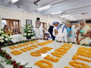 Nuns of the Missionaries of Charity celebrate 105th birth anniversary of Mother Teresa